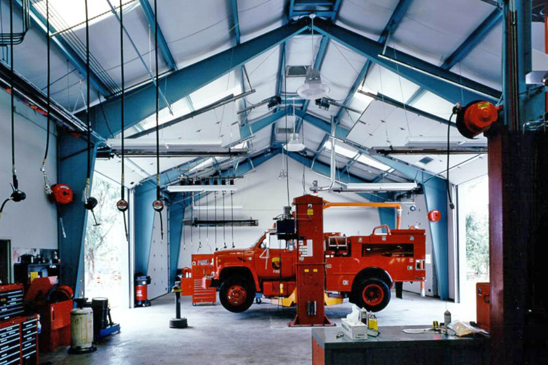 Sonoma County Auto Repair Facility | Public Safety | Glass Architects