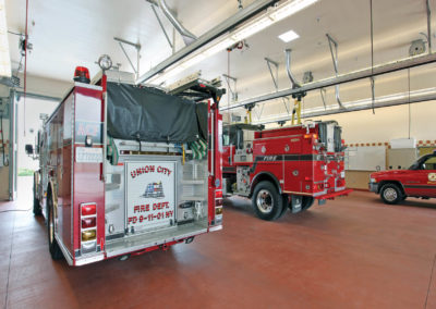 Union City Fire Station | Public Safety | Glass Architects