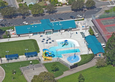 Washington Manor Aquatics Center| Recreation Structures | Glass Architects