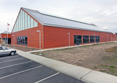 C.V. Starr Community Center | Recreation Structures | Glass Architects